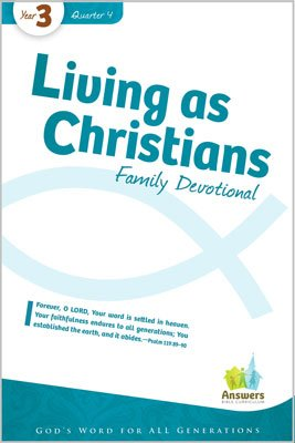 ABC Sunday School (Y3): Family Devotional - Adults: Q4 5-pack