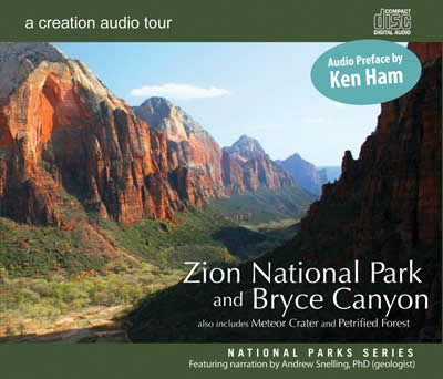 Zion National Park and Bryce Canyon: Creation Audio Tour: MP3 CD