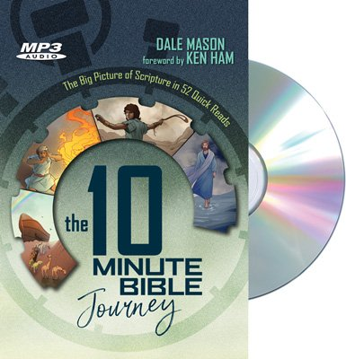 The 10 Minute Bible Journey Audiobook: MP3-CD