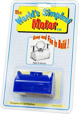 The World's Simplest Motor