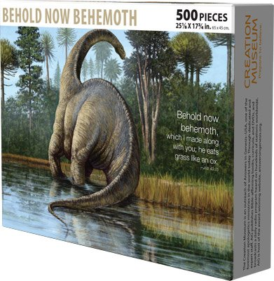 Jigsaw Puzzle: Behold Now Behemoth