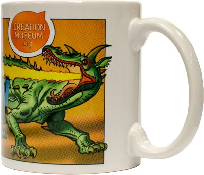 Dinosaur Mug: The Fire-Breathing Dragon
