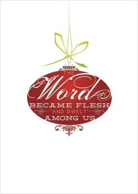 Christmas Cards: Word Became Flesh