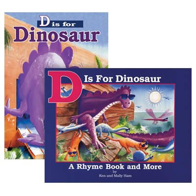 D is for Dinosaur Set