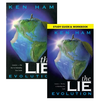 The Lie: Evolution with Study Guide: Book with Study Guide