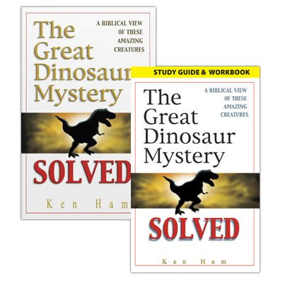 The Great Dinosaur Mystery Solved with Study Guide