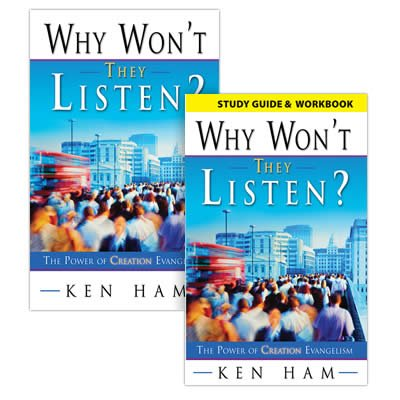 Why Won't They Listen Book & Study Guide Combo: 5 Books and 5 Study Guides