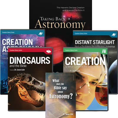 Dr. Jason Lisle Book and DVD Pack