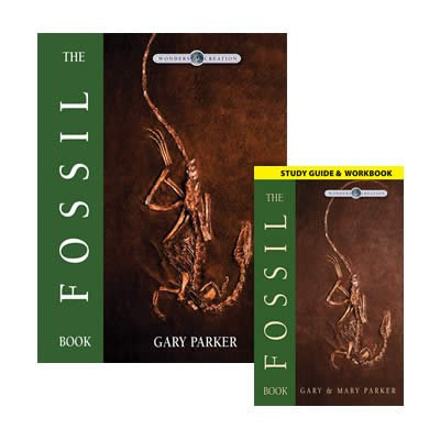The Fossil Book with Study Guide: Single copy