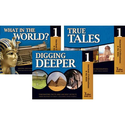 History Revealed: Ancient Civilizations & the Bible - Full CD Set