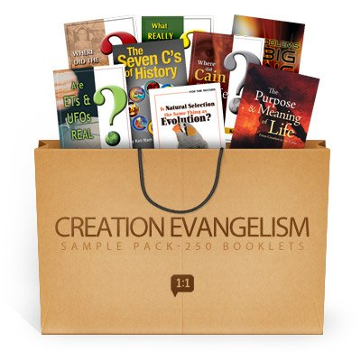 Creation Evangelism Sample Pack: 240 booklets