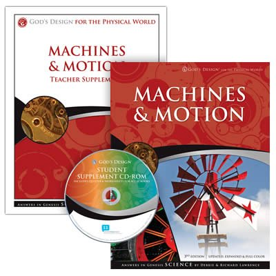 Machines & Motion Teacher and Student Pack