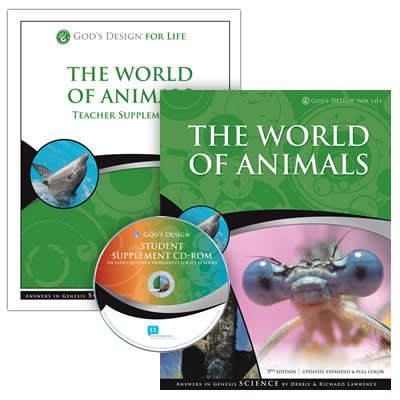 The World of Animals Teacher and Student Pack