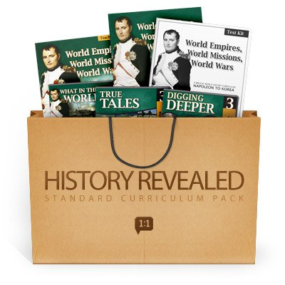 History Revealed: World Empires, World Missions, World Wars - Standard Curriculum Pack