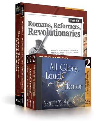 History Revealed: Romans, Reformers, Revolutionaries - Standard Curriculum Pack