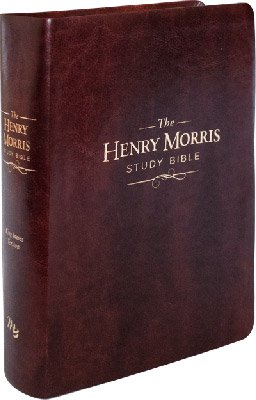 Henry Morris Study Bible (KJV): Brown Imitation Leather