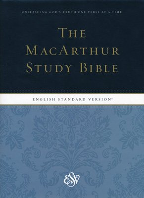 The MacArthur Study Bible - ESV
