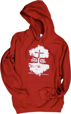 Two Trees, One Hope Sweatshirt: Adult M