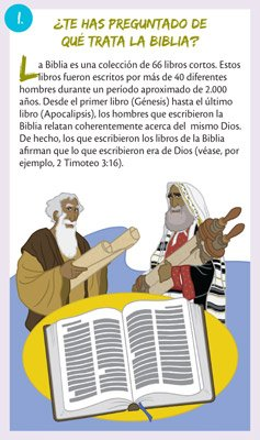 Gospel Tracts: What Is the Bible About?: Spanish