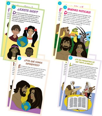 Gospel Tracts: Mega Pack: Spanish: Pack of 400