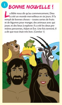 Gospel Tracts: Good News: French