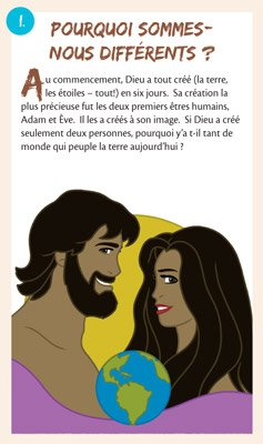 Gospel Tracts: Why Are We Different?: French