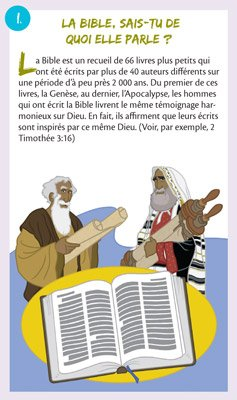 Gospel Tracts: What Is the Bible About?: French