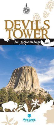 Devils Tower in Wyoming Brochure