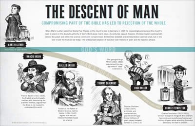 Descent of Man Wall Chart: PDF download