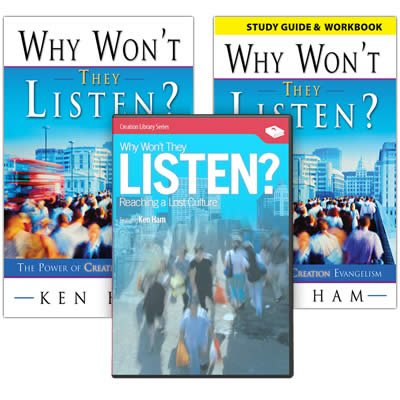 Why Won't They Listen? Combo Pack