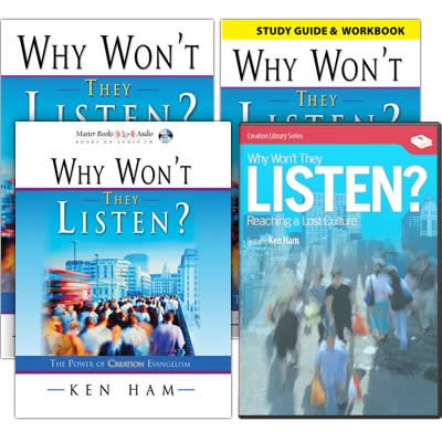Why Won't They Listen? Complete Set