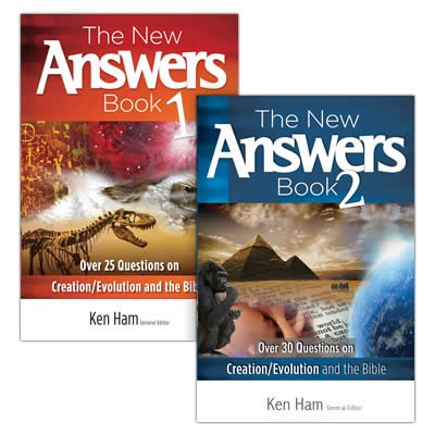 The New Answers Book 1–2 Bundle