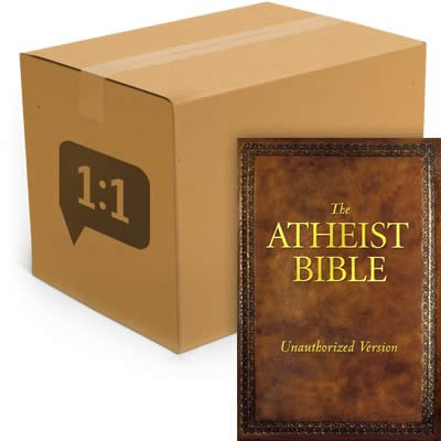 The Atheist Bible - HCSB: Case of 40