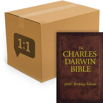 The Charles Darwin Bible - HCSB: Case of 40