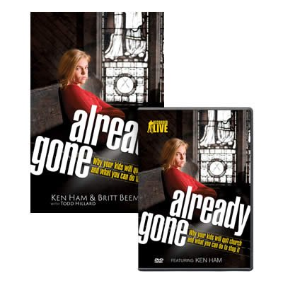 Already Gone Book & DVD Set