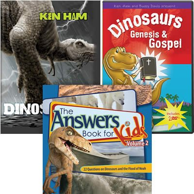 Dinosaur Answers for Kids Combo
