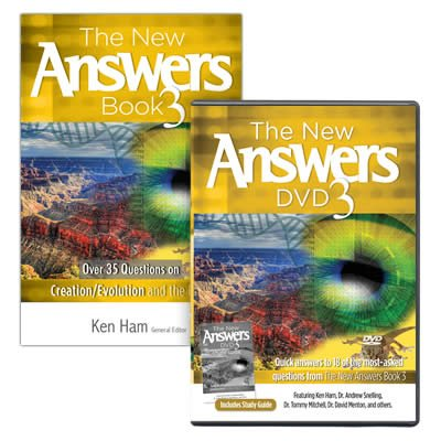 The New Answers Book and DVD 3 Combo