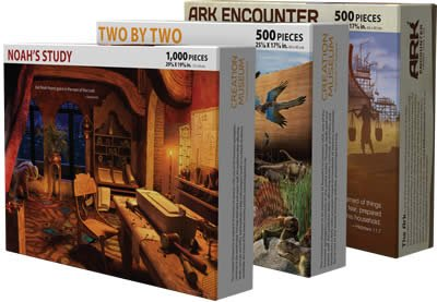 Set of 3 Ark Puzzles