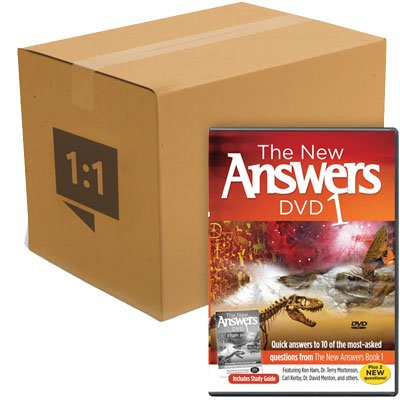 The New Answers DVD 1: Case of 30