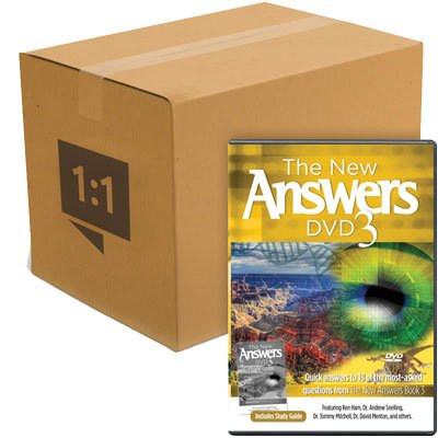 The New Answers DVD 3: Case of 30