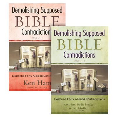 Demolishing Supposed Bible Contradictions Set