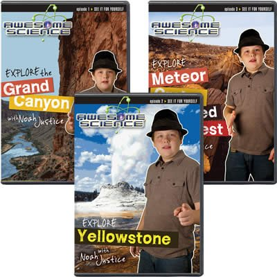 Awesome Science Volumes 1-3
