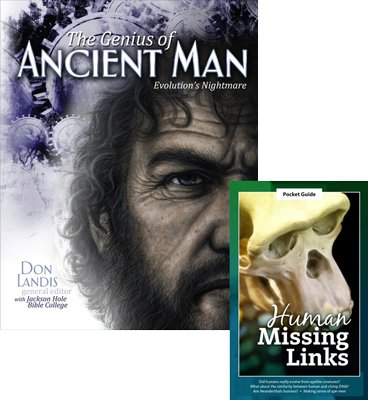 The Genius of Ancient Man / Apemen 2-book COMBO