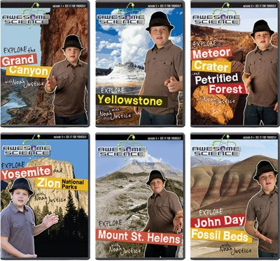Awesome Science Volumes 1-6