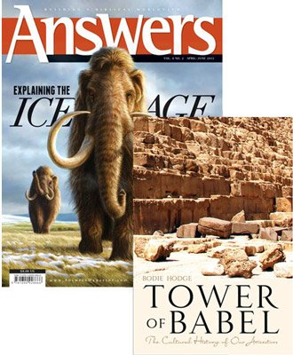 Tower of Babel Book & Ice Age Magazine Combo