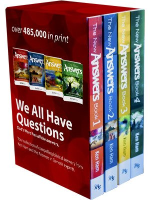 The New Answers Book Box Set