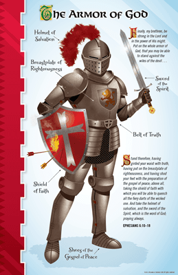 Armor Of God Poster Answers In Genesis