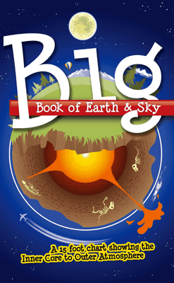 Big Book of Earth & Sky: Hardcover