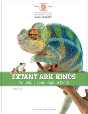 Extant Ark Kinds: Amphibian and Reptile Kinds, Volume 2