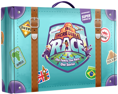The Incredible Race VBS: Super Starter Kit: Contemporary